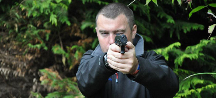 Air pistol shooting hire for corporate and social events delivered by On Targett Events