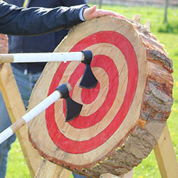 Axe Throwing hire for corporate and social events