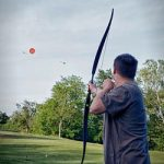 Bow Trap moving target archery hire for corporate and social events