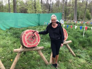 Axe Throwing in Salcey Forest