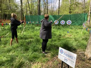 Archery at Salcey Forest